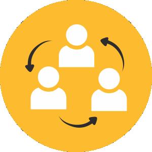 تعامل سازنده با کاربران و  جذب مخاطب